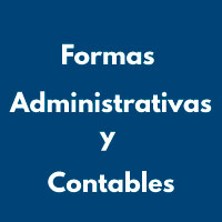 FORMAS ADMNISTRATIVAS Y CONTABLES