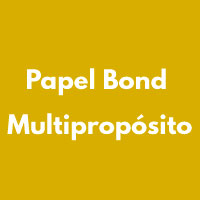 PAPEL BOND MULTIPROPOSITO