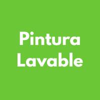 PINTURA LAVABLE