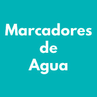 MARCADORES DE AGUA