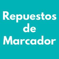 REPUESTOS DE MARCADOR