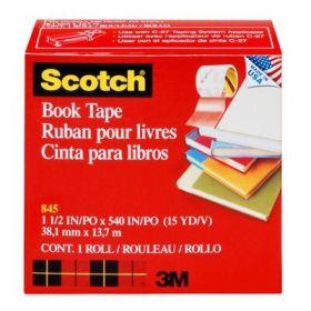 CINTA SCOTCH 845 PARA LIBRO 50MMX13MTS  ***