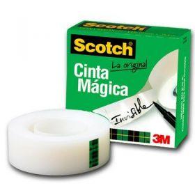 CINTA SCOTCH 810 18MMX33MTS MAGICA                         *