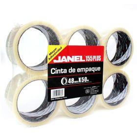 CINTA TRANSPARENTE JANEL NO.155 48X50