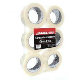CINTA TRANSPARENTE JANEL NO.155 48X150