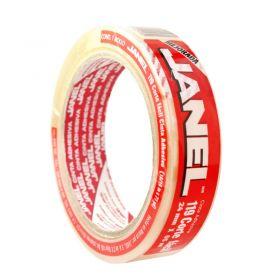 CINTA ADHESIVA JANEL NO.119 24X65 TRANSPARENTE             *