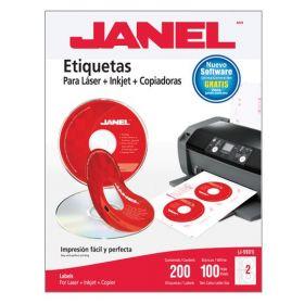 ETIQUETA LASER NO.J-5931 BCA. 11.7X41/2 C/100             *