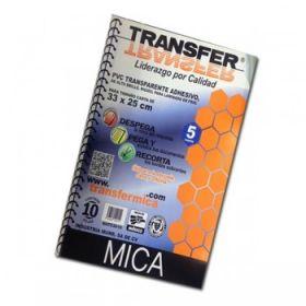 MICA AUTOADHESIVA 25X33 PAQUETE C/10 *