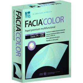 PAPEL FACIA BOND CARTA 36 KG. VERDE C/500                *