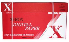PAPEL XEROX T/CARTA CAJA C/10 PAQUETES DE 500 HOJAS
