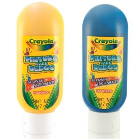 PINTURA DIGITAL CRAYOLA AMARILLA 147 ML