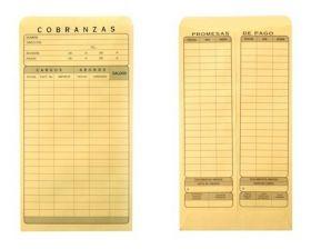 SOBRE MANILA COBRANZA 11.5X21.5-90 S07CM C/50