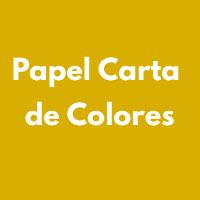 PAPEL CARTA DE COLORES
