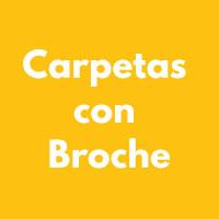 CARPETAS CON BROCHE