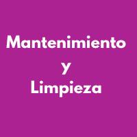 MANTENIMIENTO Y LIMPIEZA