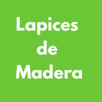 LAPICES DE MADERA