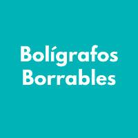 BOLIGRAFOS BORRABLES