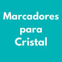 MARCADORES PARA CRISTAL
