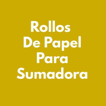 ROLLO PARA SUMADORAS