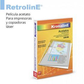 ACETATO KRONALINE T/ CARTA P/LASSER C/50 AL691*