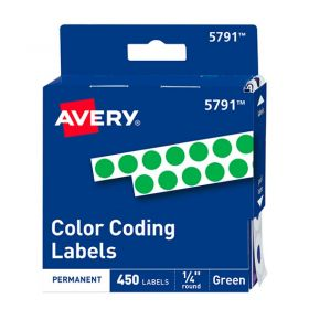ETIQUETA AVERY NO.TD5731 PERM. RED. VERDE C/450