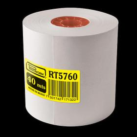 ROLLO P/SUMADORA SATINADO 57X60 MM C/3 PZAS *