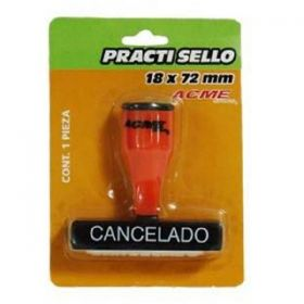 SELLO DE GOMA C/LEYENDA CANCELADO 30003BN                          *